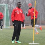 Dominic Adiyiah: Ghana striker negotiating with Swedish side Halmstads BK