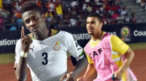 AFCON 2015: Ghana striker Asamoah Gyan equals Black Stars AFCON scoring record