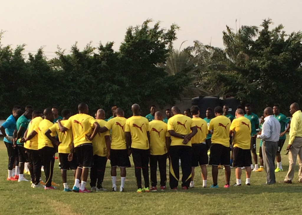 Ghana's AFCON squad hits the ground running with first training session in Seville
