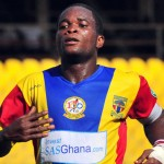 Uninvited striker Mahatma Otoo trains with Ghana's Nations Cup squad