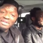 Sulley Muntari and Micheal Essien post friendly diss video to Hip-life star Sarkodie