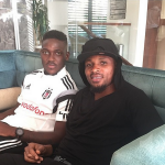 Ghana defender Jerry Akaminko welcomes Besiktas new signing Daniel Opare to Turkey