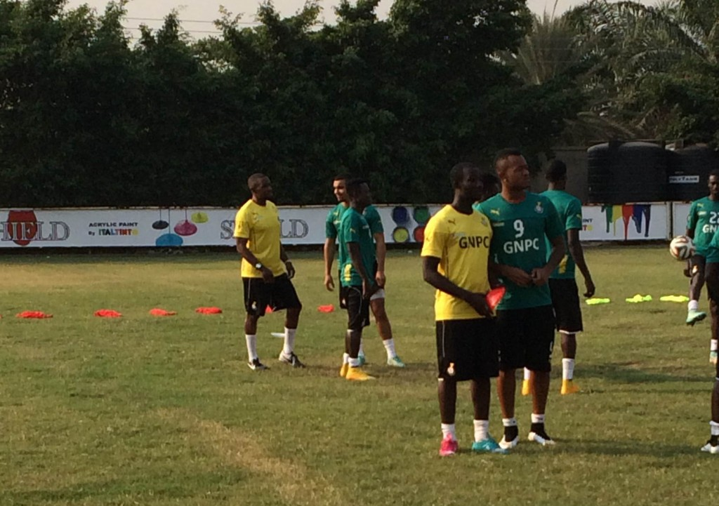 Ghana's Nations Cup squad to leave for camping base in Spain on Sunday