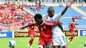 2015 AFCON: Cart driver nearly runs over DR Congo player Gabriel Zakuani