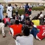 FC Taraba players vow to remain at governors gates until salaries are paid