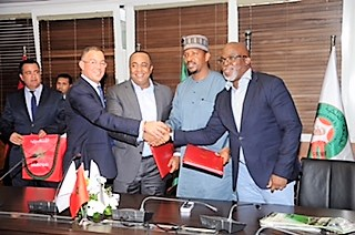 NFF, LMC sign strategic pact with Morocco football authorities