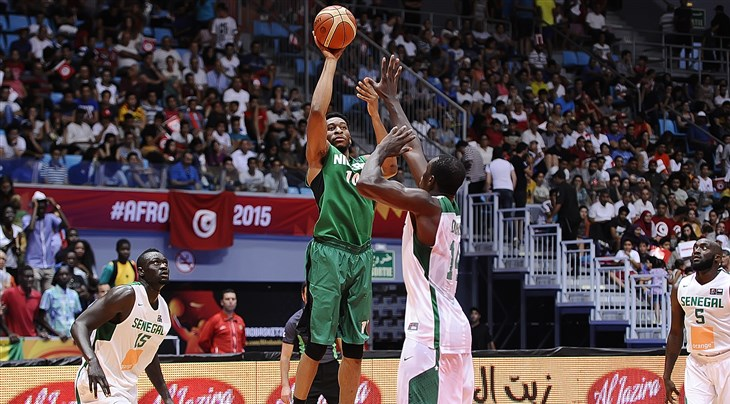 Nigeria's Okoye measures up opponents in FIBA Basketball World Cup Qualifiers