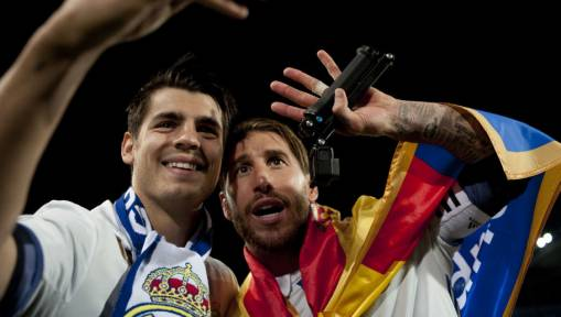 Real Madrid's Sergio Ramos Pens Farewell Message to Chelsea-Bound Alvaro Morata on Twitter