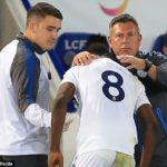 Leicester City manager Craig Shakespeare plays down Kelechi Iheanacho injury fears after striker limps off on Foxes debut