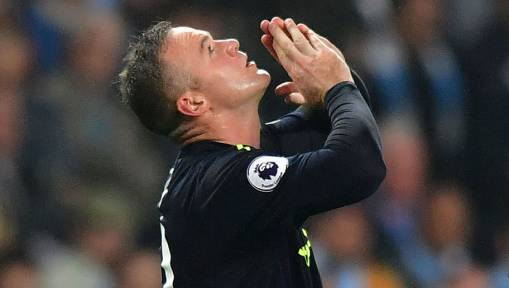 Manchester City 1-1 Everton: Super Sub Sterling Rescues Point for Citizens as Rooney Bags 200th Goal