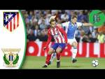 Leganes vs Atletico Madrid 0-0 - Highlights & Goals - 30 September 2017