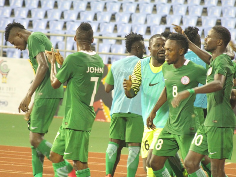 WAFU update: Rabiu Ali Nets Winner As Nigeria Book Place In WAFU Cup Of Nations Final