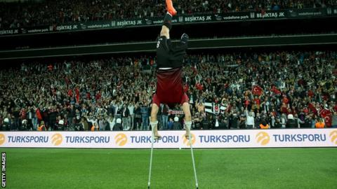 Turkey 'proud' of free-scoring amputee champions