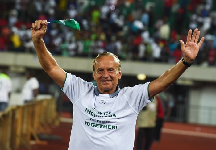 Super Eagles coach Gernot Rohr signs contract extension