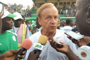 Rohr: Result Very Important, We're Satisfied With Eagles' Performance Vs Seychelles