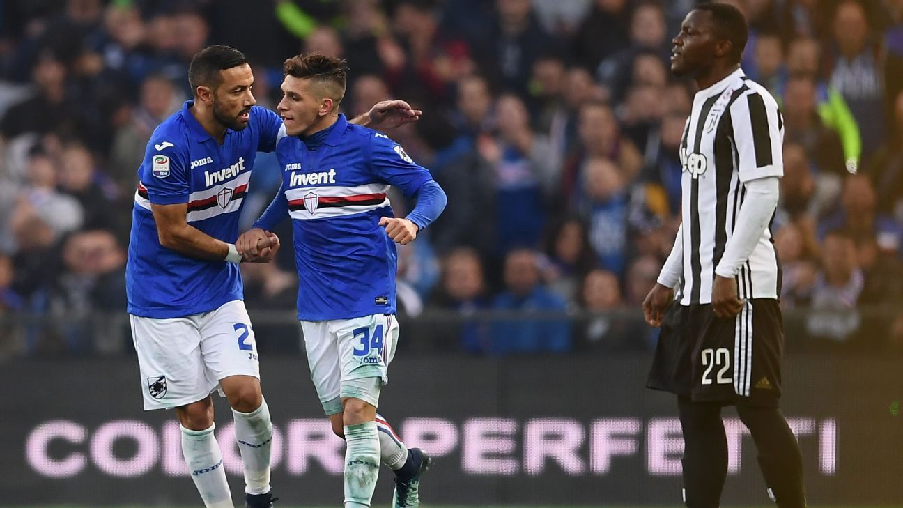 Massimiliano Allegri holds no regrets over changes for Sampdoria loss