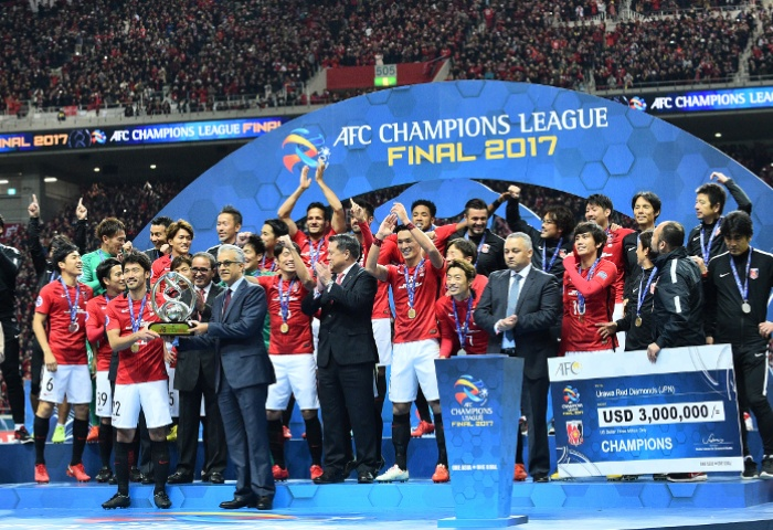 AFC President congratulates Urawa Red Diamonds for 2017 AFC Champions League victory
