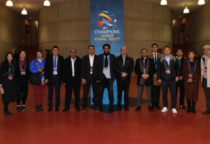 Special Champions League Final tour for senior executives, hosts of AFC competitions