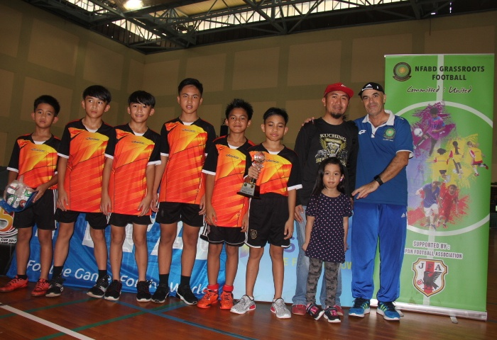WINA FT clinch Brunei U-12 futsal crown to make it two titles in a row