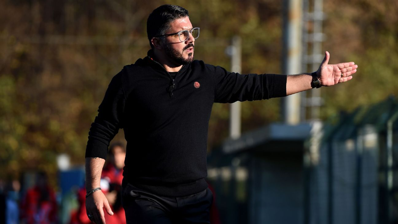 Gennaro Gattuso ready for AC Milan challenge after replacing Montella