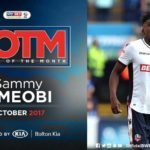 Ameobi receives player of the month award