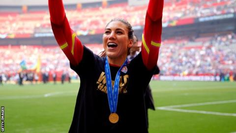 Hope Solo: World Cup winner running for US Soccer Federation presidency