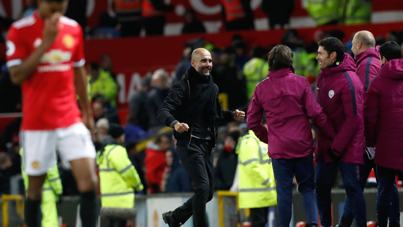 Pep Guardiola: If Man United were offended by celebrations, I apologise