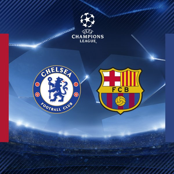 Moses Chelsea face Barcelona in the UCL round of 16