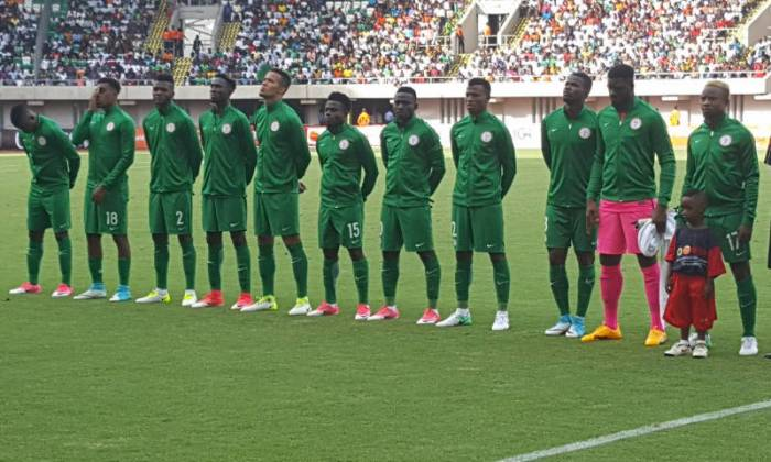 Super Eagles drop in latest FIFA world rankings