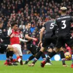 Alex Iwobi on target in Arsenal's demolition of Crystal Palace