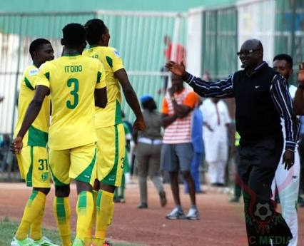 Raphael Ayagwa Lift Ten Man Plateau United To 1-0 Away Win Over Eding Sport Of Cameroon