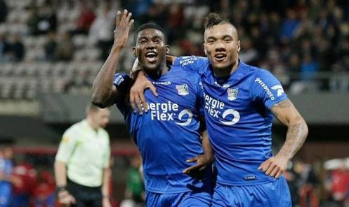 Liverpool Loanee Taiwo Awoniyi Bags Assist For Mouscron In Dramatic 2-2 Draw