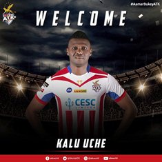 Official: 2010 World Cup Star Kalu Uche Makes ATK Switch