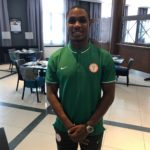 Super Eagles Players Hit Gym For Poland