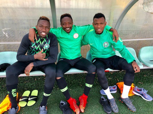 "Abdullahi, Eze Thrilled To Be Part Of ""Talented"" Super Eagles Squad"