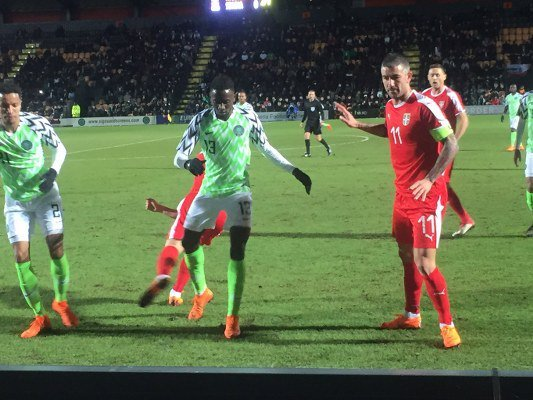 Aleksandar Mitrovic Hit Brace To Condemn Super Eagles To Defeat Against Serbia
