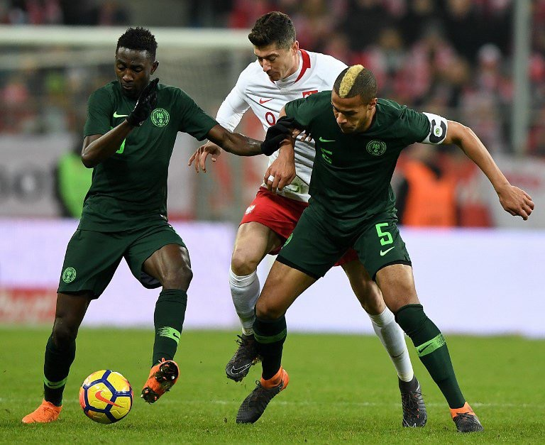 Victor Moses Scores To Power Super Eagles To Win Over Poland