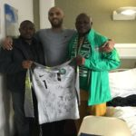 NFF Visit Ikeme In Hospital