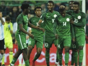 Nigeria move 5 places up in Lastest FIFA rankings