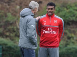 Super Eagles' Alex Iwobi grateful to departing  Arsene Wenger