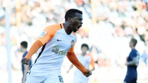 Kayode Nominated For Shakhtar Player Of The Month Award