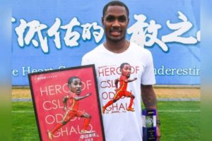 Ighalo Wins CSL Player Of The Month Award For April