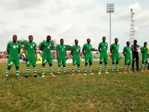 Aigbogun Blames Poor Calabar Pitch For Flying Eagles' Slim Win Vs Guinea-Bissau in the U20 AFCON Qualifiers