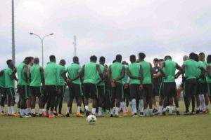 Nwakalis Shine As Super Eagles Train For Atletico Madrid