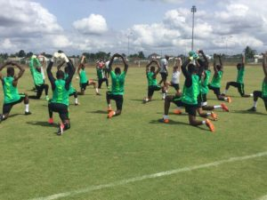 Super Eagles To Train In PH This Evening For Congo Friendly