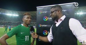 Kelechi Nwakali Reaches Out To Rohr After Dazzling Display Against Atletico Madrid