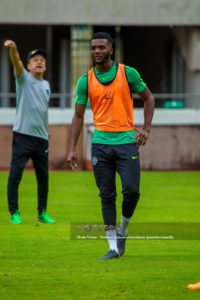 Super Eagles Training – Awaziem Suffers Injury Scare , Moses Simon Still Out
