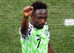 Ahmed Musa: Iceland win is a big motivation ahead of Argentina clash