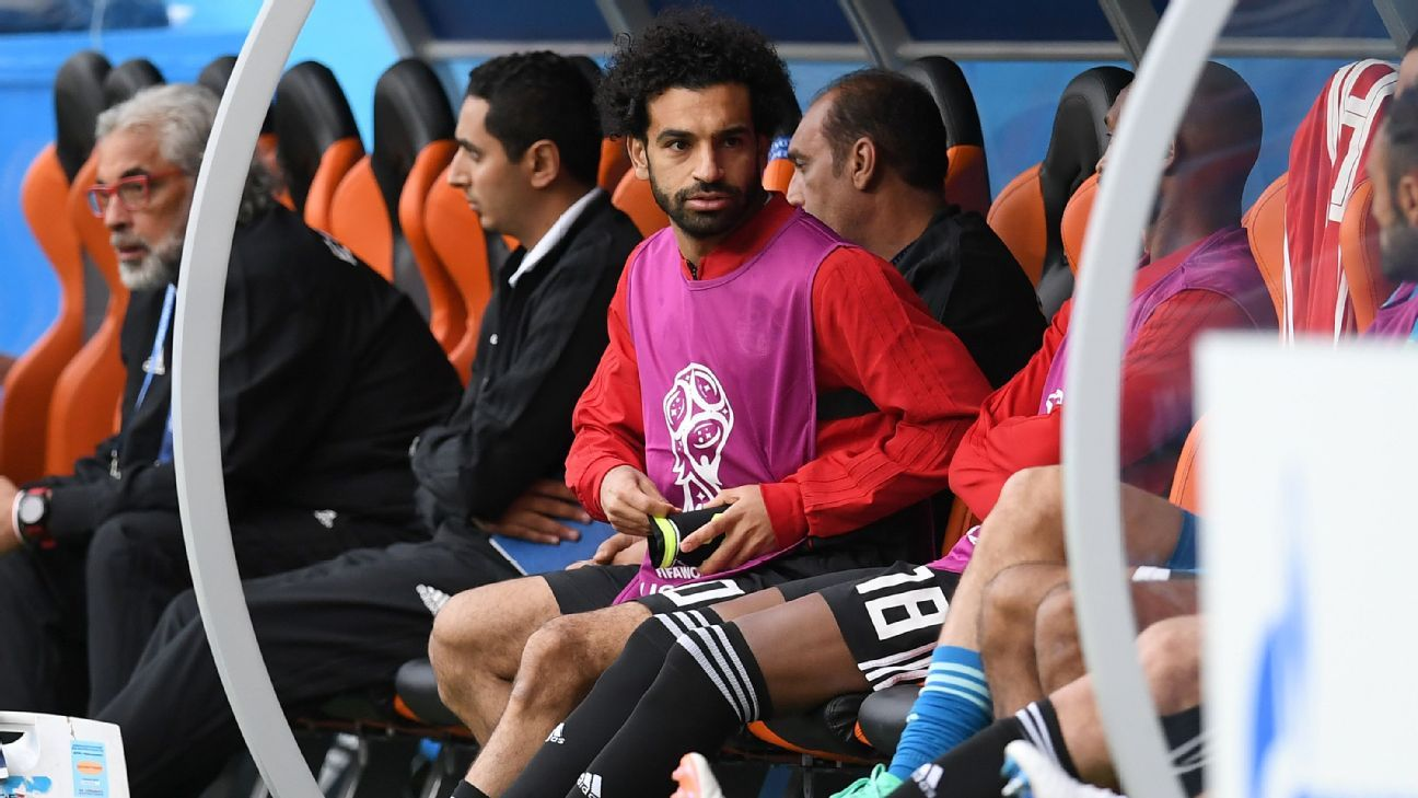 Egypt's Mohamed Salah not the first Liverpool player to struggle at a World Cup
