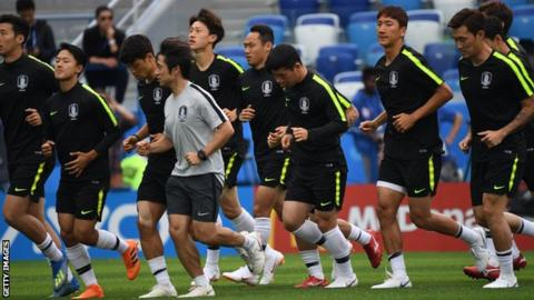 South Korea coach made players swap shirts to confuse Westerners